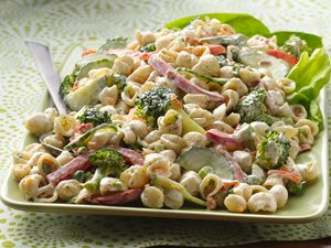 Garden Ranch Pasta Salad