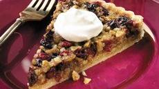 Walnut-Cranberry Tart Recipe