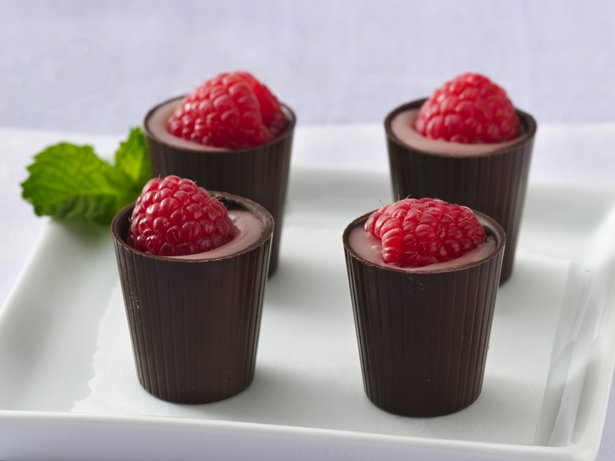 Raspberry Cordials