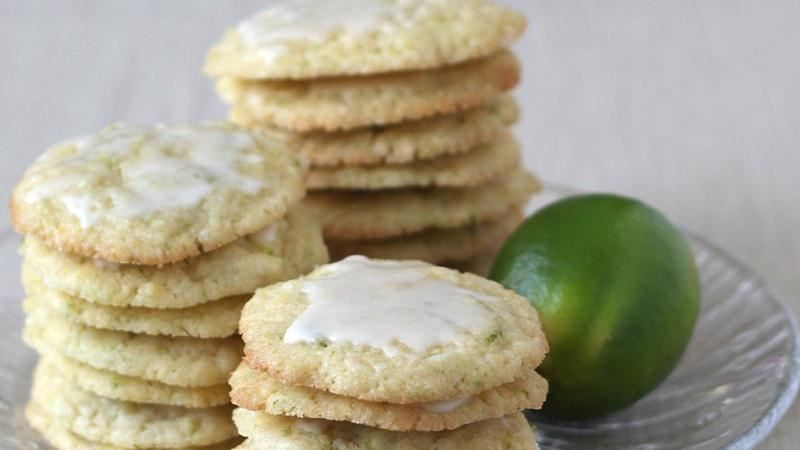 Boozy Coconut-Lime Cookies