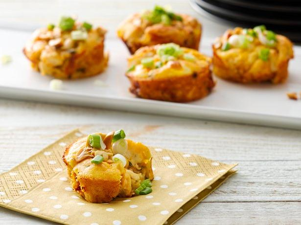 Impossibly Easy Mini Thai Chicken Pies