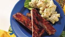 Jiffy Barbecued Ribs Recipe