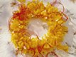Golden Glow Candy Wreath