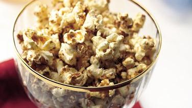 Gingerbread Popcorn Snack