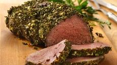 Beef Tenderloin with Herb-Dijon Crust Recipe