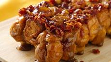 Maple Bacon Monkey Bread Recipe