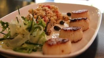 Lulu's Pan Roasted Sea Scallops