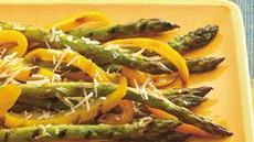 Parmesan-Asparagus and Bell Pepper Recipe