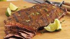 Spicy Chili Lime Flank Steak Recipe