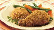 Crispy Chicken with Fresh Herbs Recipe