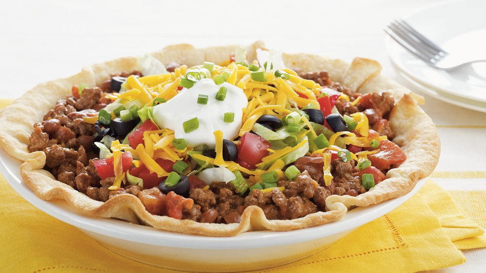Taco Salad Pie recipe from Pillsbury.com