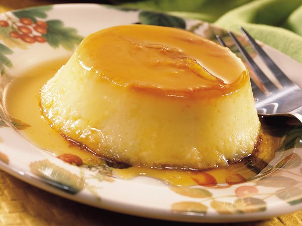 Image of Apple Crème Caramel, Betty Crocker