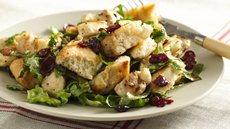 Balsamic Chicken Cranberry Panzanella Recipe