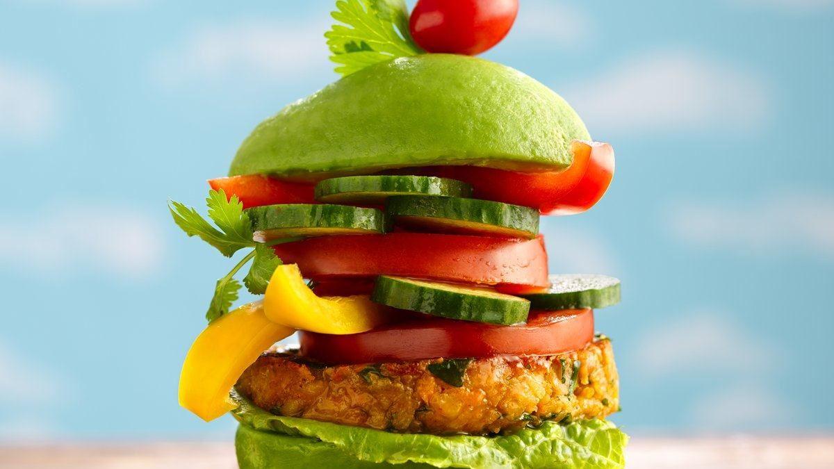 Veggie Burger Delight - Life Made Delicious
