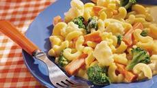 Creamy Vegetable Macaroni and Cheese Recipe