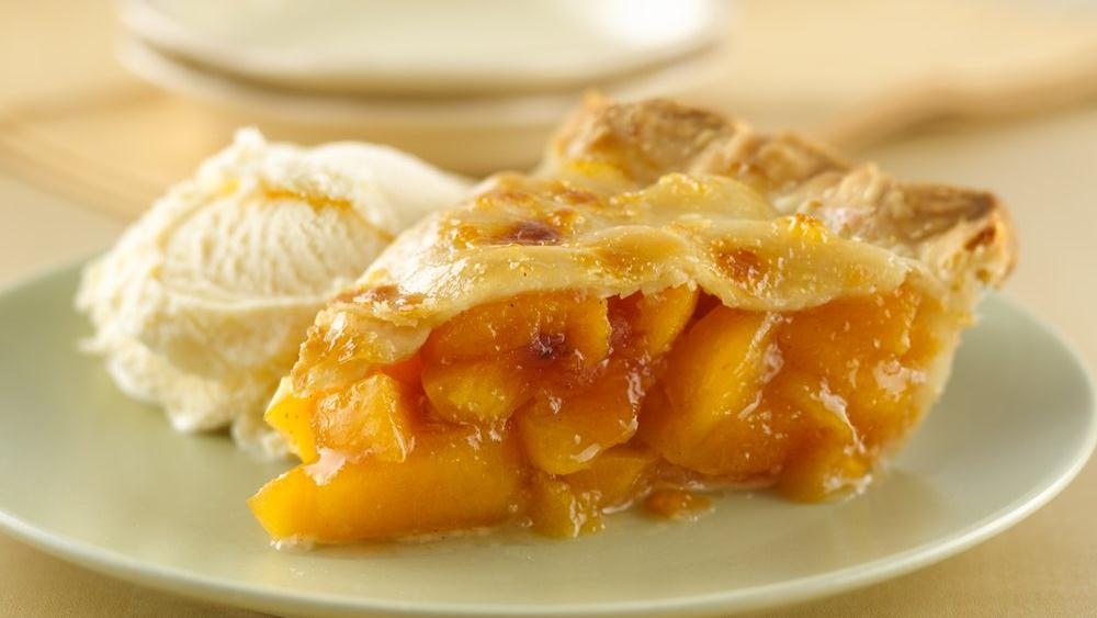 Peach Pie recipe from Pillsbury.com
