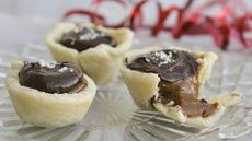 Caramel Chocolate Mini Pies Recipe