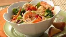 Sesame Stir-Fry Shrimp Salad Recipe