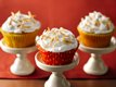 Tropical Cupcakes with Fluffy Gingered Frosting