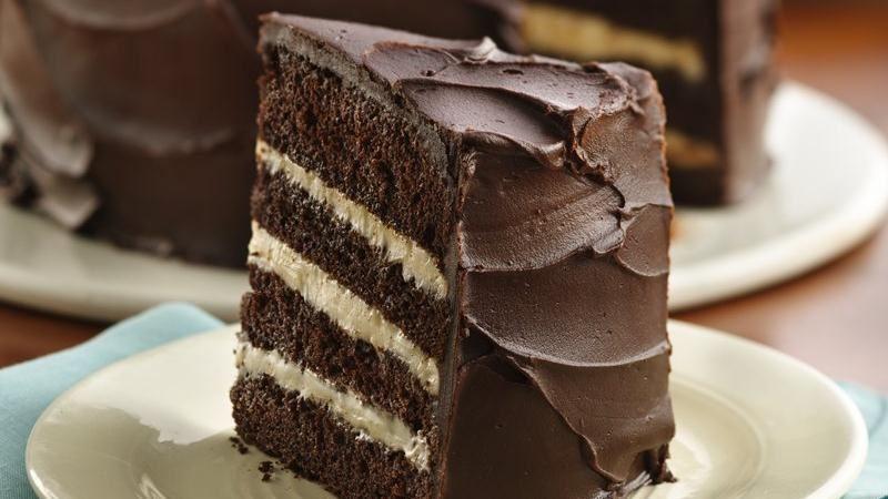 Deep Dark Mocha Torte
