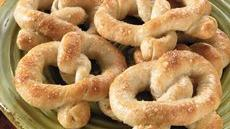 Soft Pesto Pretzels Recipe