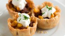 Mini Chorizo and Corn Tarts Recipe