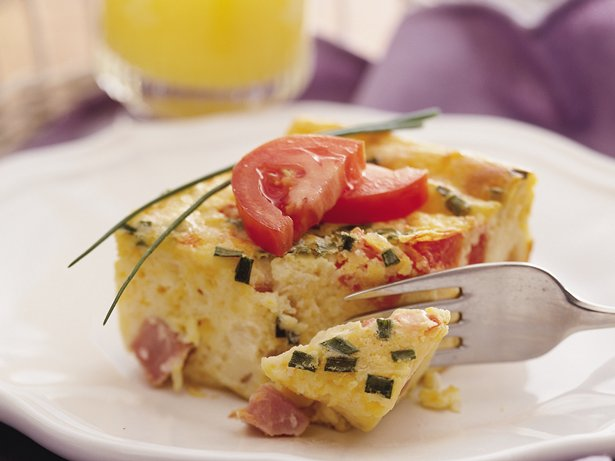 Springtime Ham and Egg Bake