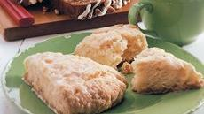 Apple-Ginger Scones Recipe