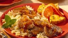 Pork Medallions With Hot Pineapple Glaze Recipe
