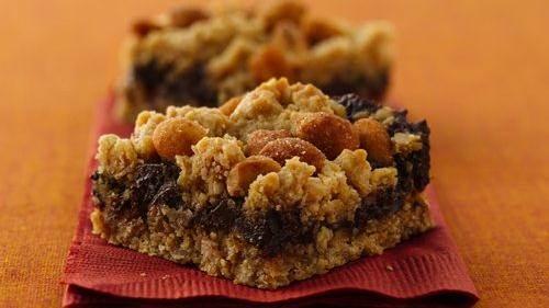 No-Bake Chocolate Mint Bars recipe from Betty Crocker