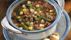 Easy Hamburger Stew Recipe
