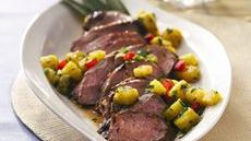 Grilled Caribbean Pork with Pineapple Salsa Recipe