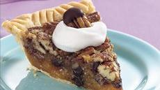 Chocolate-Pecan Pie Recipe