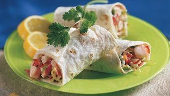 Crab Tortilla Roll-Ups