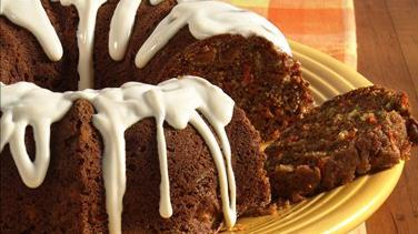 Applesauce-Carrot Spice Cake