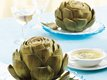 Artichokes with Rosemary Sauce