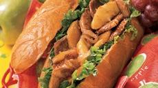 Sweet and Spicy Pork, Onion and Apple Sandwiches Recipe