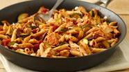 Healthified Mediterranean-Style Chicken and Pasta