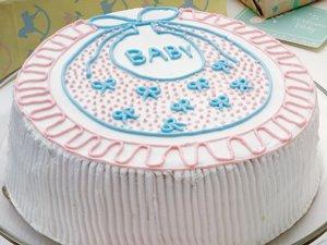 Baby's Bib Cake
