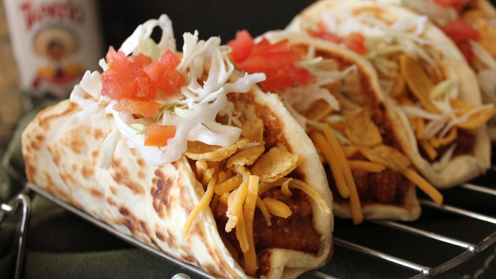 Corn Chip Crescent Tacos