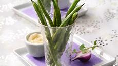Roasted Green Beans with Roasted Garlic Aioli Recipe