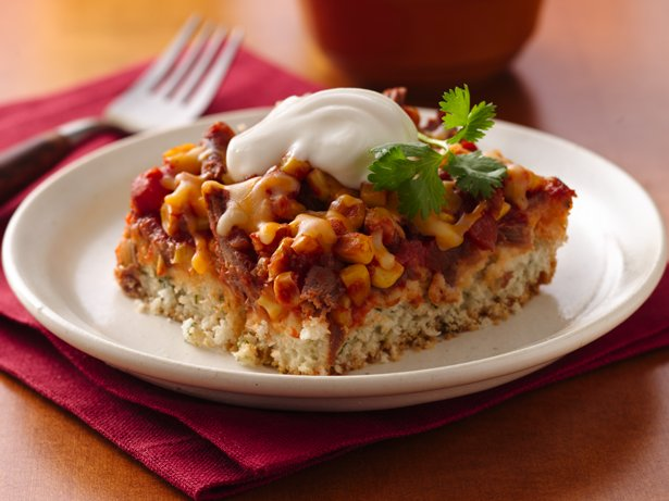 Beef Taco Bake recipe from Betty Crocker
