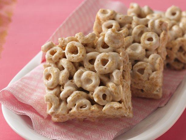 Honey Nut-Marshmallow Bars