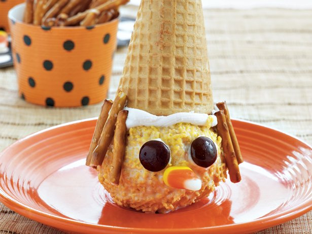 Scarecrow Ice Cream Cones