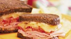 Toasted Ham and Gouda Sandwiches Recipe