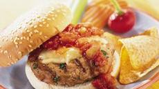 Grilled Turkey Mexiburgers Recipe