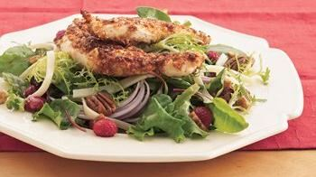 Nutty Chicken Dinner Salad