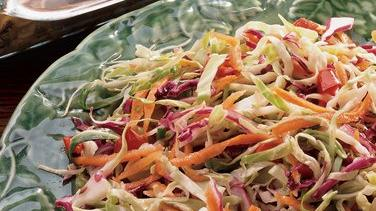 Red and Green Cabbage Salad