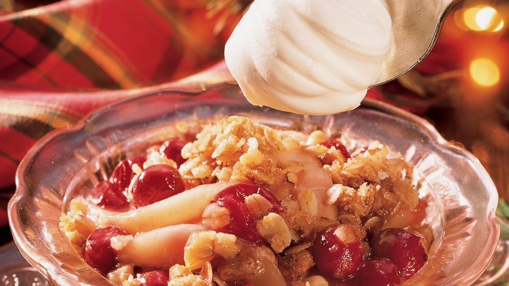Pear-Cranberry Crisp recipe from Pillsbury.com