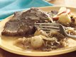 Bavarian-Style Beef Roast and Sauerkraut